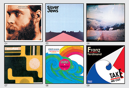 indie band record covers