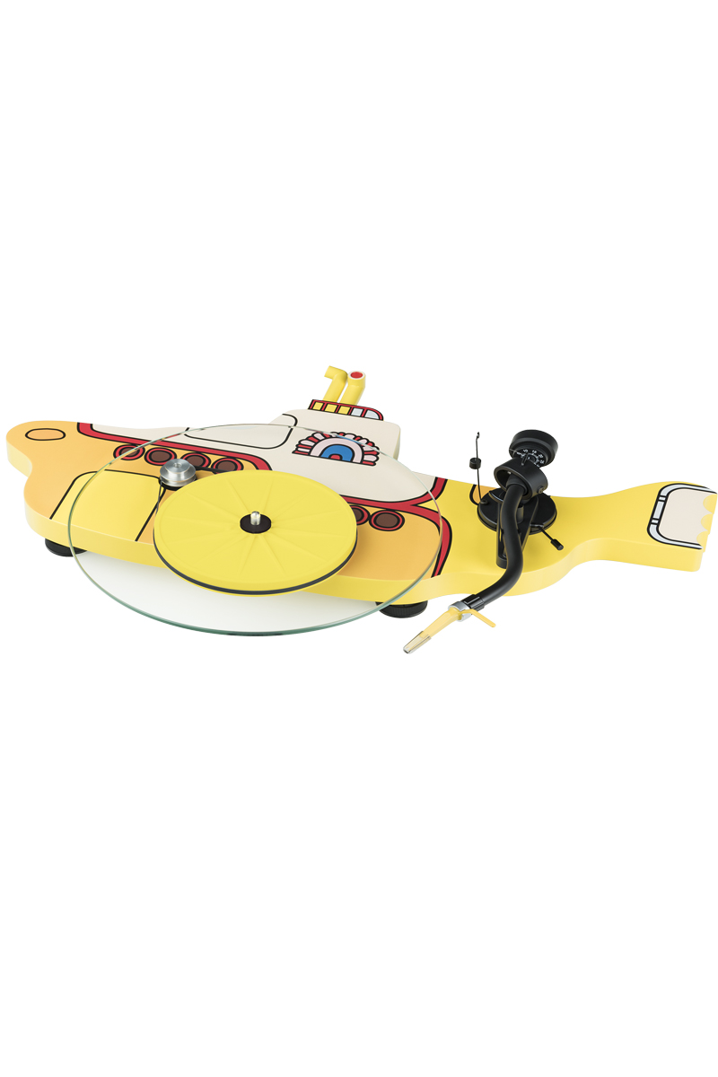 Pro-Ject The Beatles Yellow Submarine Turntable (With free black ...