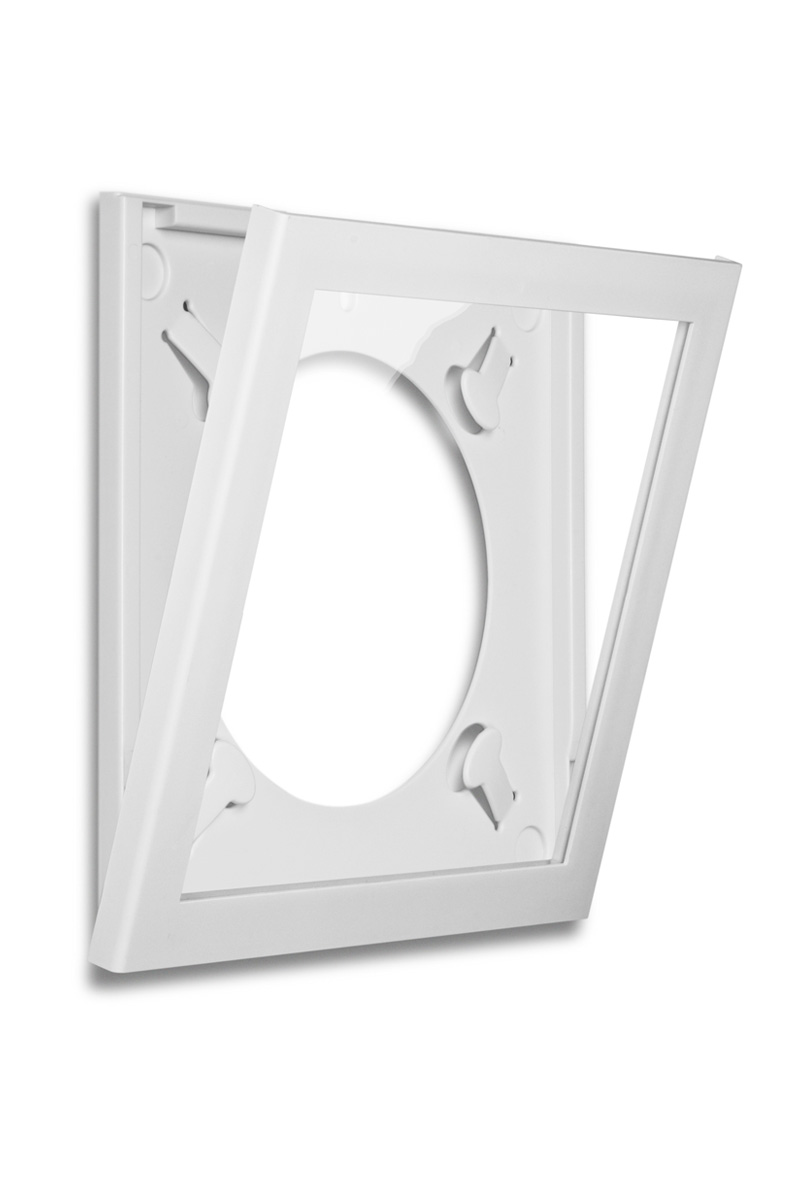 Art Vinyl Play And Display 12 Record Frame White Art