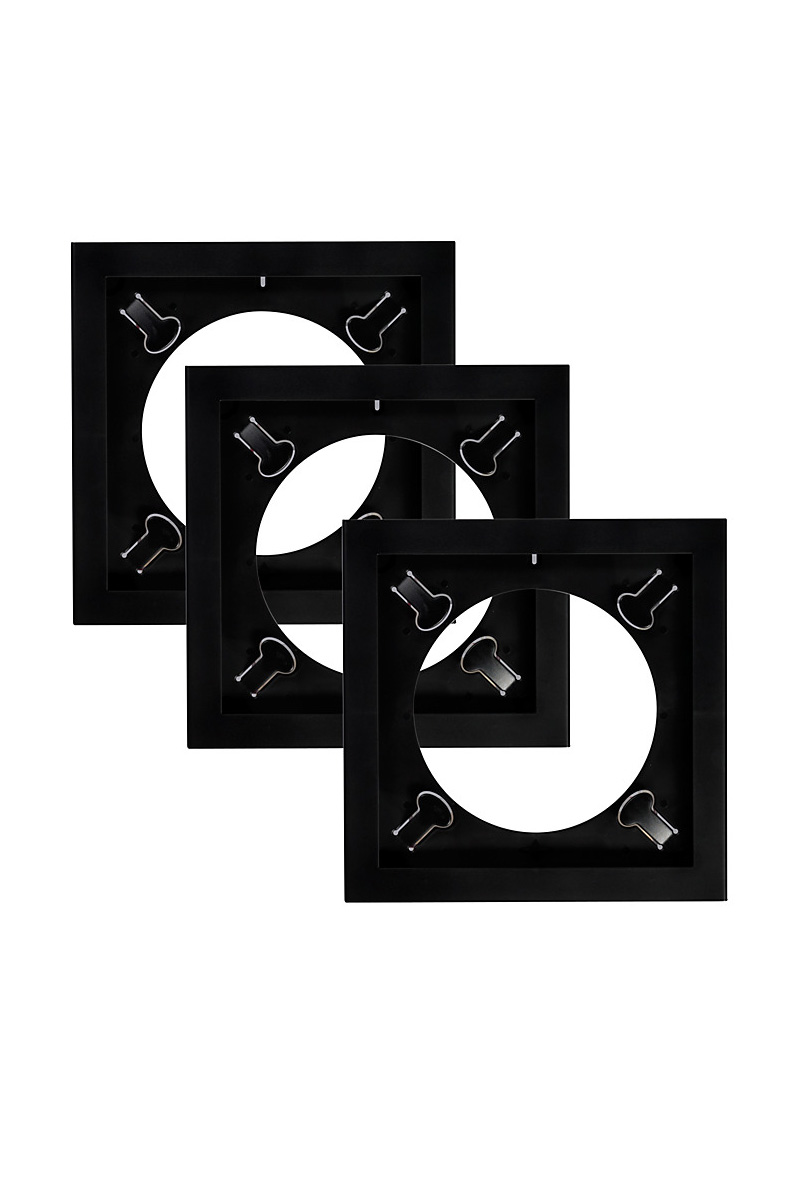 Play & Display Triplepack (Black) - Art Vinyl