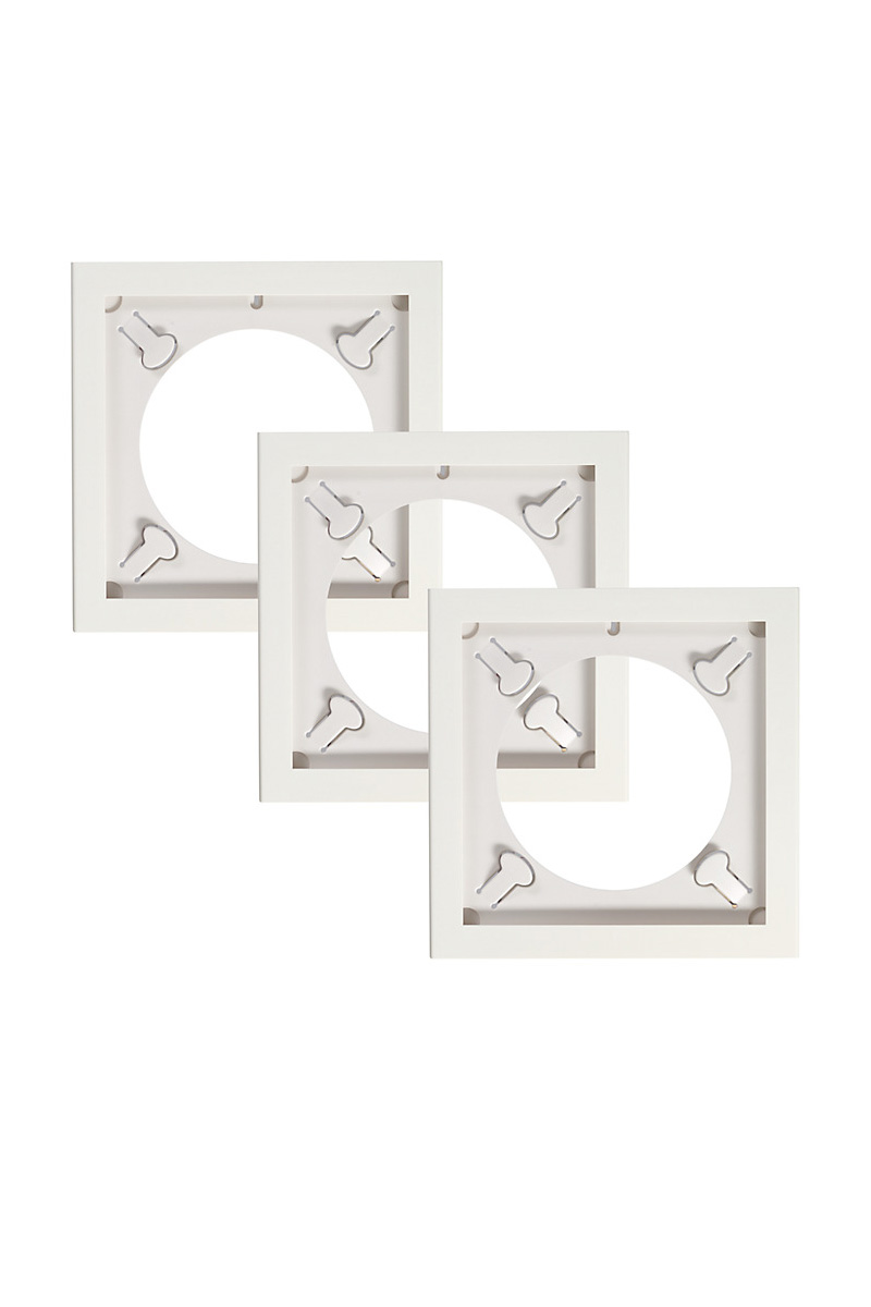 Play & Display Triplepack (White) - Art Vinyl